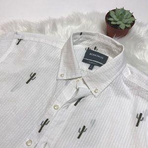 Bobobos Cactus 🌵 Pinstripe Shirt